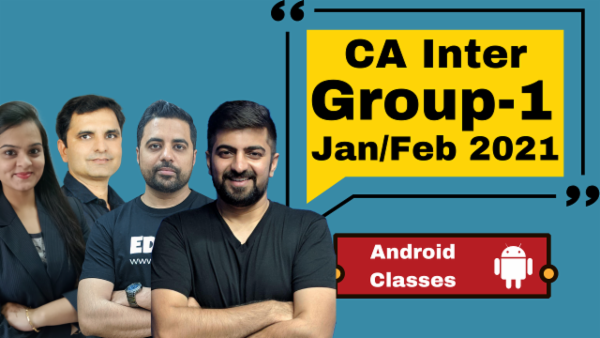 CA Inter Group 1 Combo - Nov 2020 - Android App cover