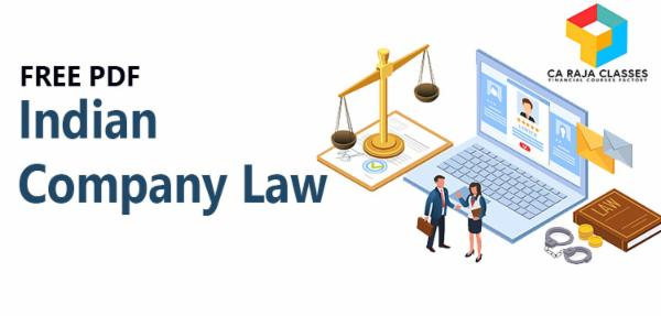PDF - Indian Company Law cover