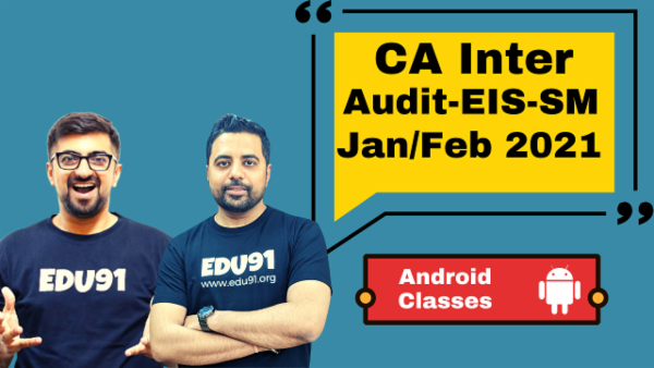 CA Inter Audit,EIS & SM Combo - Nov 2020 - Android App cover