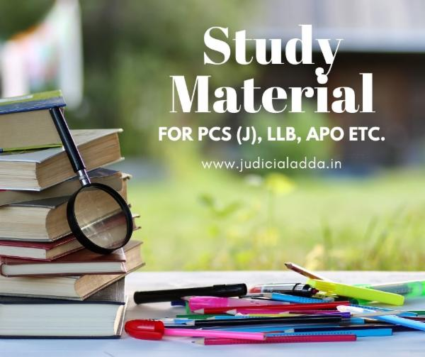 Notes for PCS (J), APO and other legal Exams cover