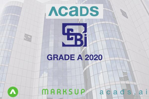SEBI 2020 GRADE A [Phase I + Phase II] COMBO cover