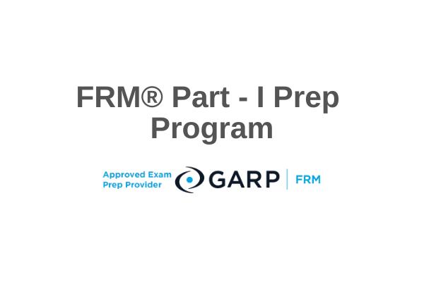 FRM® Level I Prep Course cover