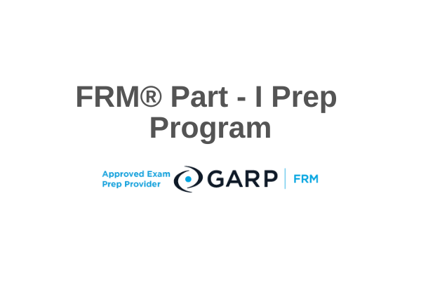 FRM® Part I Prep Course cover