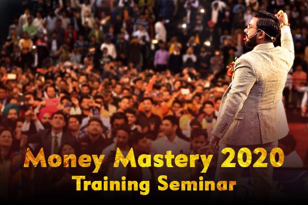Money Mastery Training Seminar 2020 cover