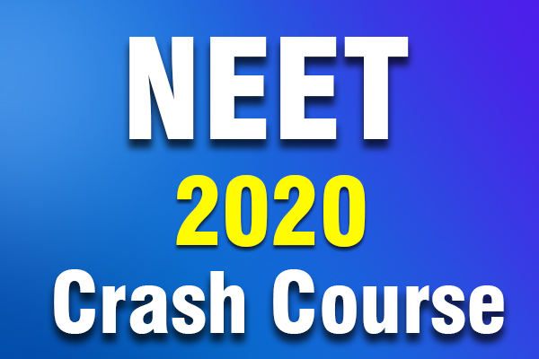 NEET 2020 CRASH COURSE cover