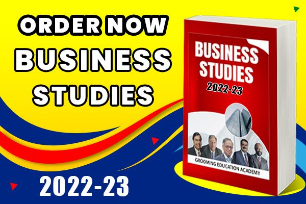 Business Studies Book and Revision Notes : Class 12 cover