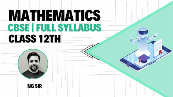 Class 12th Mathematics March 2021 | Mobile App cover