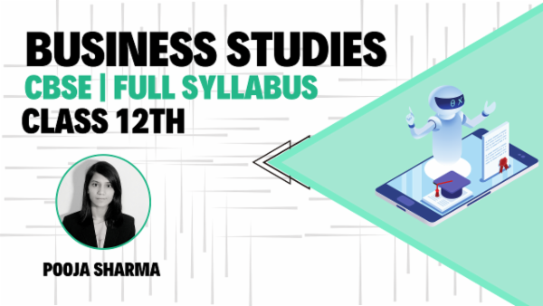 Class 12th Business Studies March 2021 | Mobile App cover