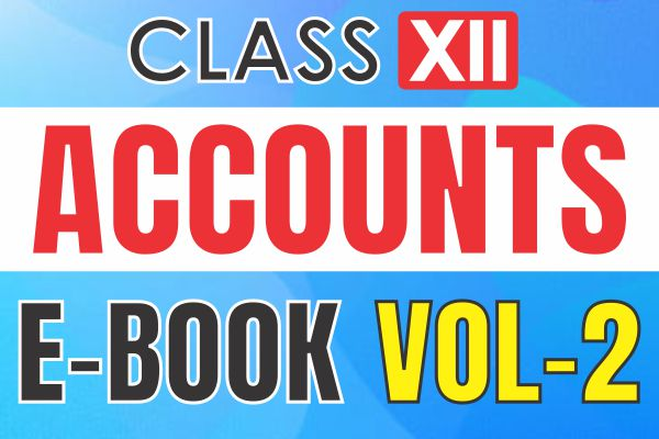 Accountancy Book II : Class 12 cover