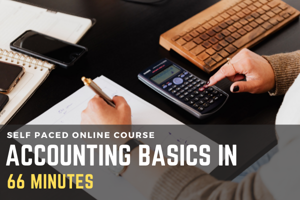 Learn Accounting Basics in 66 Minutes (Absolutely for Beginners) cover