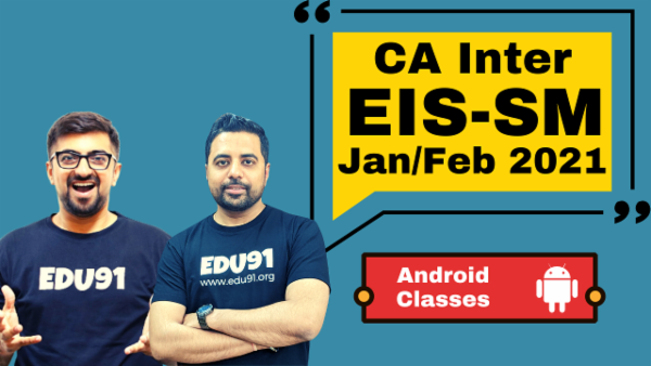 CA Inter EIS & SM Combo - Nov 2020 - Android App cover