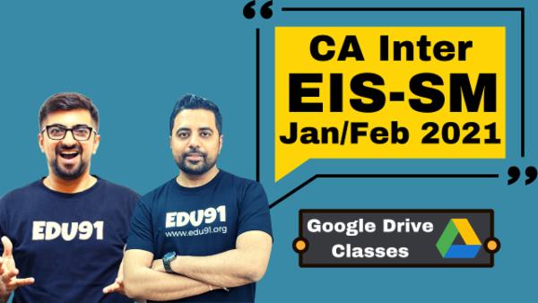 CA Inter EIS & SM Combo - Google Drive - Nov 2020 cover