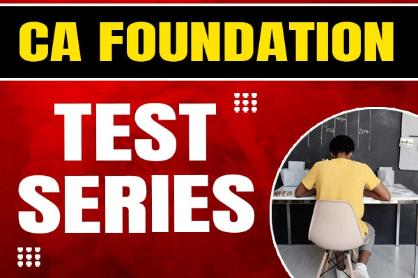 Test Series : CA Foundation cover