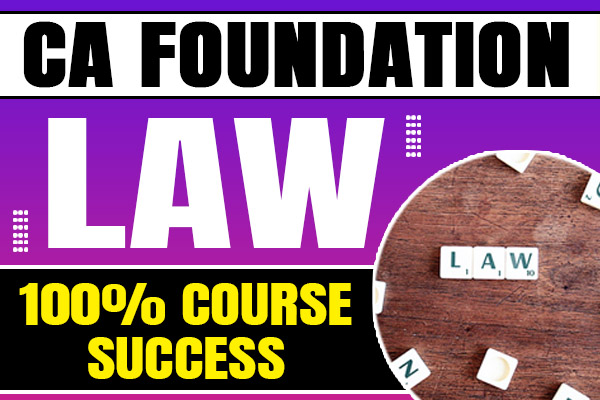 Law : CA Foundation cover