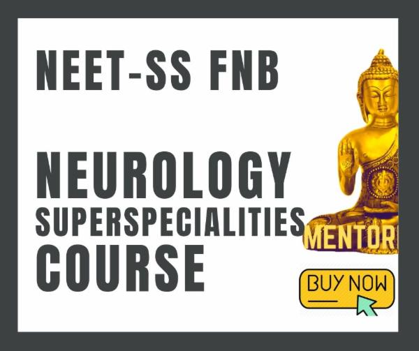 NEET-SS FNB NEUROLOGY exam course cover