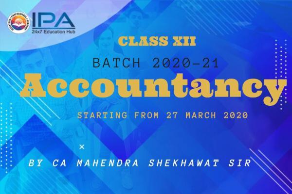 Class XII - Accountancy (CBSE) cover