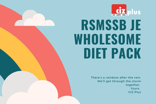 RSMSSB JE Wholesome Diet Pack cover