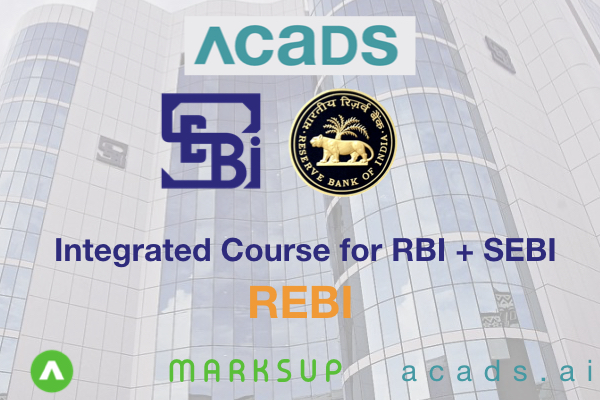 REBI 2020 [Integrated Course for RBI and SEBI ] cover