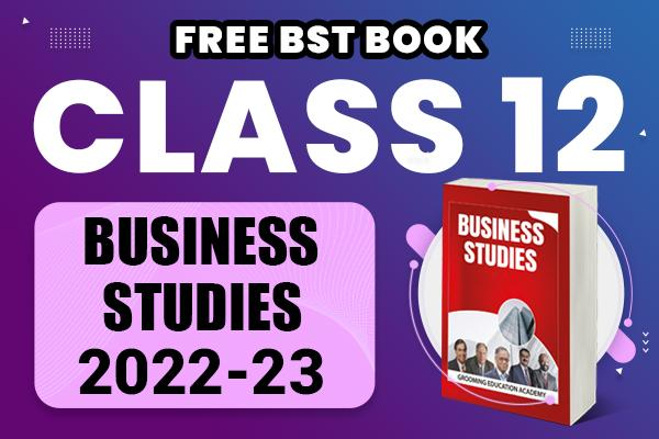 Business Studies : Class 12 cover