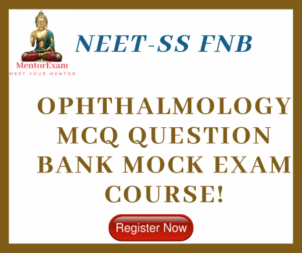 NEET - SS FNB OPHTHALMOLOGY EXAM COURSE cover