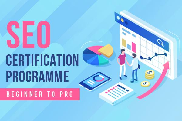 SEO Certification Programme : Beginner to Pro cover