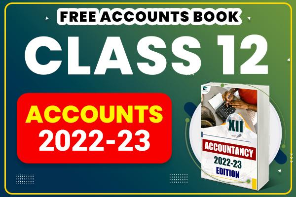 Accountancy : Class 12 cover