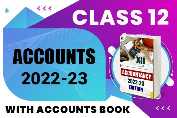 Accountancy : Class 12 cover