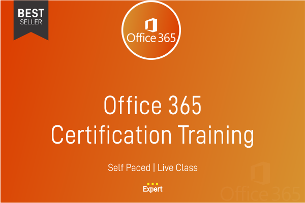Office 365 Certification Training cover