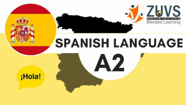 Spanish Language A2 cover