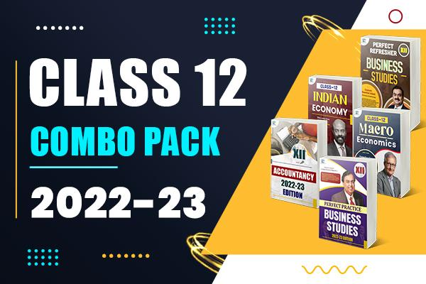 Combo Pack : Class 12 cover