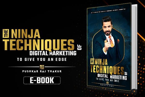 Network Marketing Ninja Techniques E-Book cover