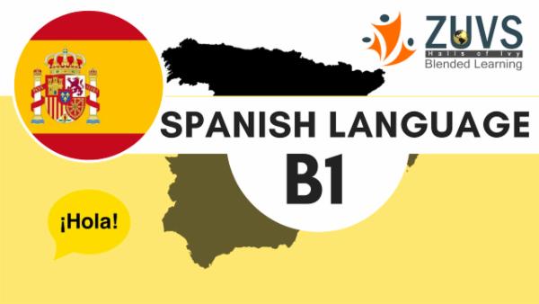 Spanish Language B1 cover