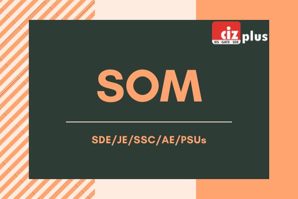 SOM for SDE/JE/SSC/AE/PSUs cover
