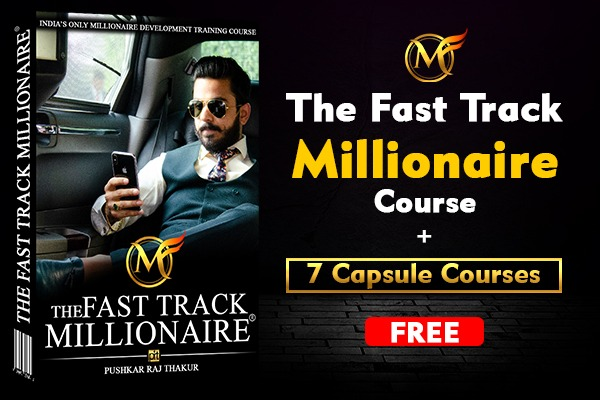 The Fast Track Millionaire (Hindi) cover