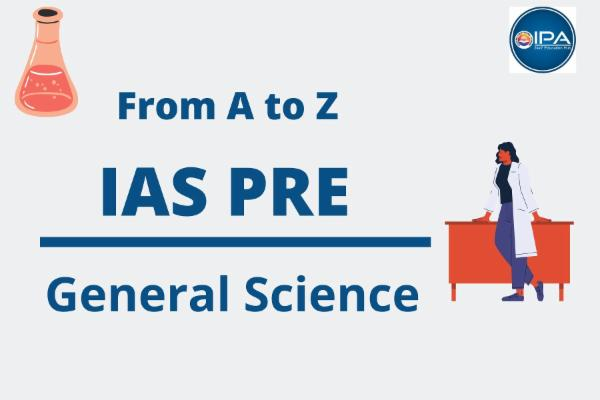 Civil Services - General Science (Pre) cover