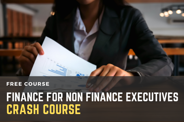 Free Crash Course on Finance for Non Finance Executives cover