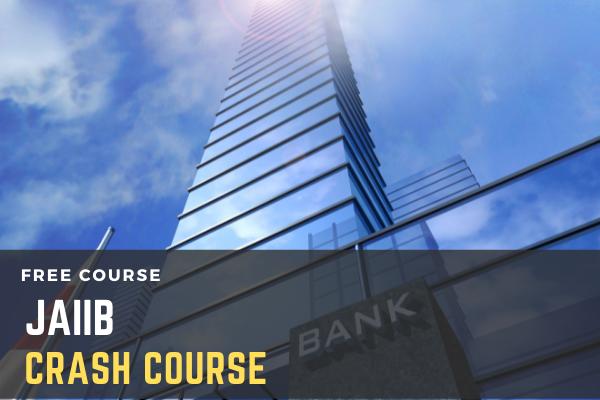 Crash Course on JAIIB cover