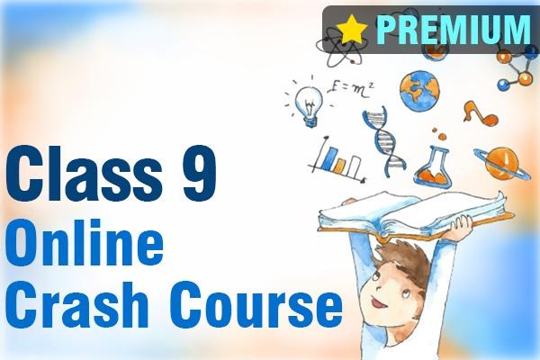 Class 9 Online Crash Course cover