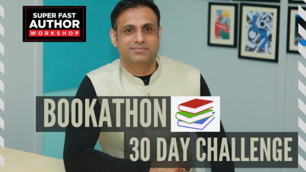 Bookathon 30 day Challenge cover