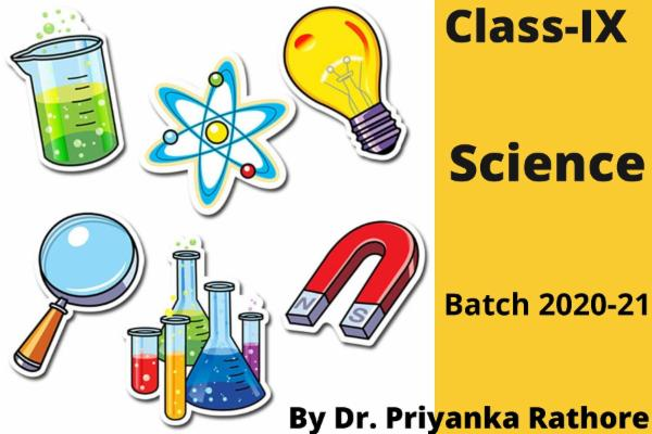 Class IX Science cover