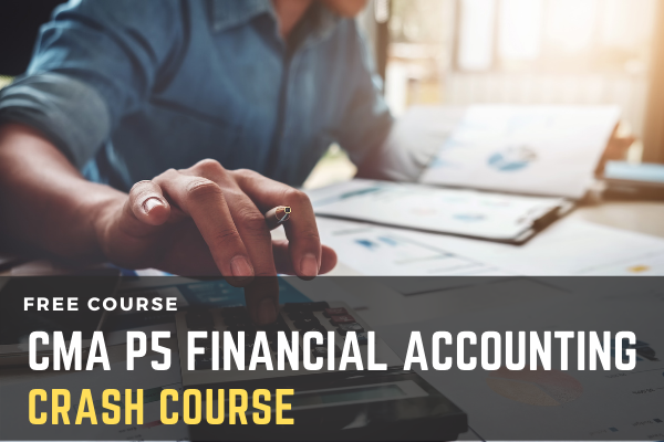 Crash Course on Paper - 5 Financial Accounting cover