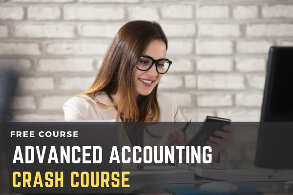 Free Crash Course on Advanced Accounting cover