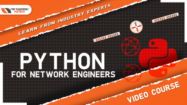Python project for Network Engineers cover
