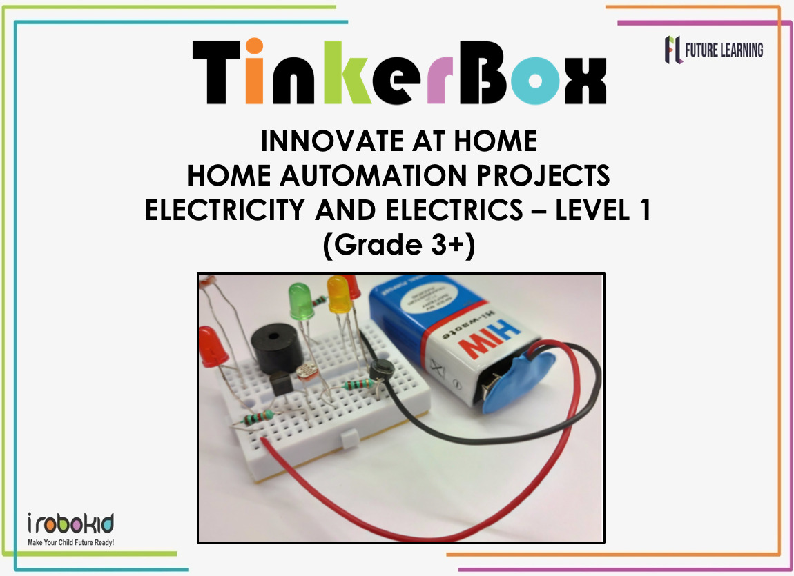Tinker Box Jr - Electricity and Electrics - Level 1 cover
