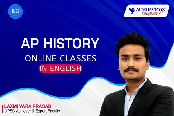 AP History in English | AP History English Medium Classes cover