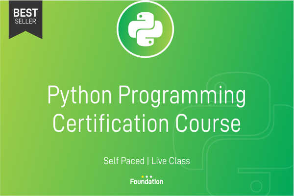 Python Programming Certification Course cover