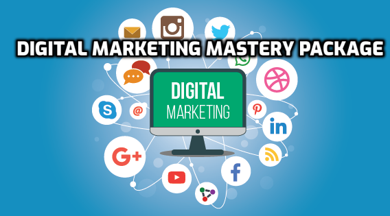 Digital Marketing Mastery Package cover