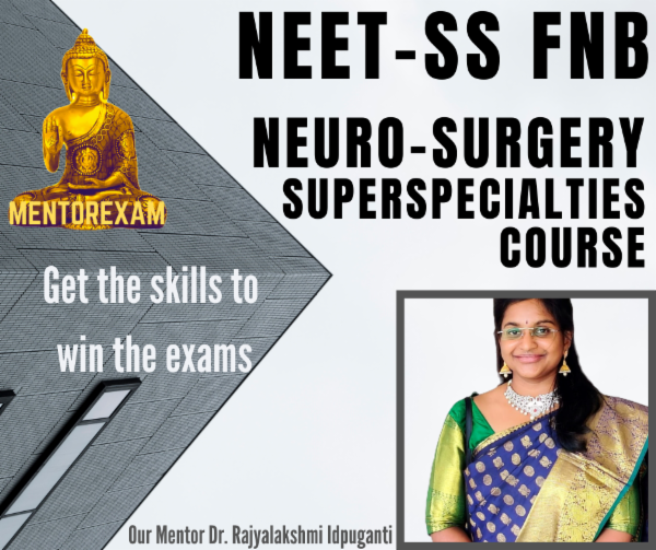 NEET-SS Neurosurgery MCQ Question Bank Mock Exam Course cover