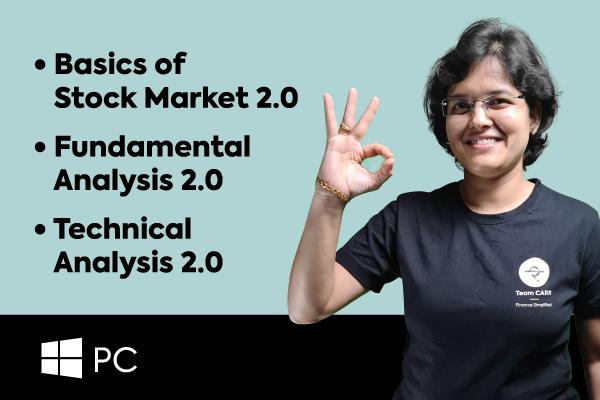 Basics Of Stock Market + Fundamental Analysis + Technical Analysis (For Windows PCs) cover