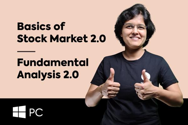 Basics Of Stock Market + Fundamental Analysis (For Windows PCs) cover